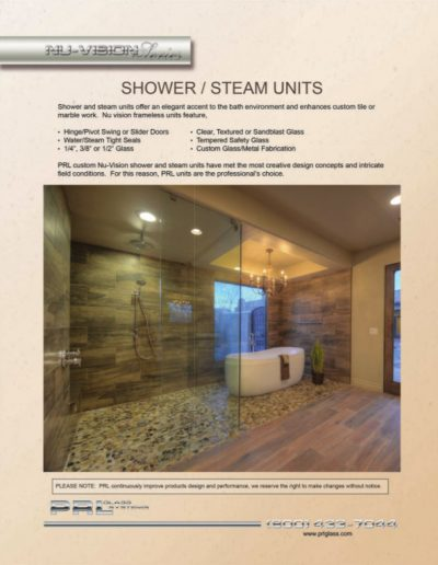 Shower and Steam Units 1