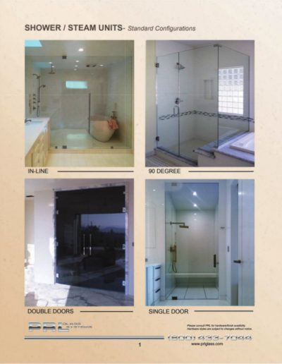 Shower and Steam Units 2