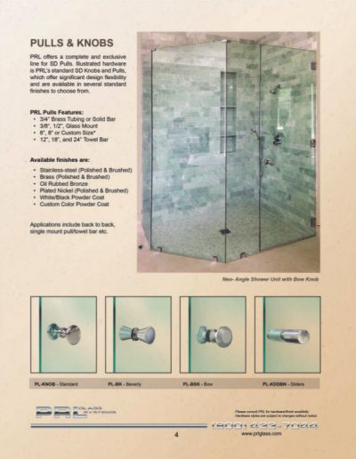 Shower Pulls and Knobs