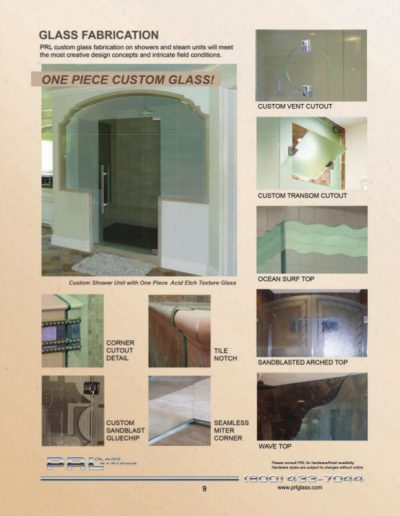 Shower Glass Fabrication