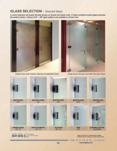 Shower Glass Selection