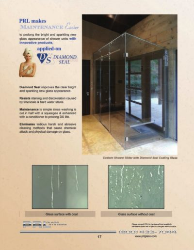 Shower Glass Maintenance