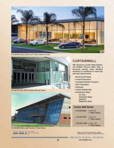 All Glass Curtain Walls