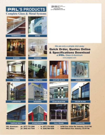 Complete Glass and Metal Systems