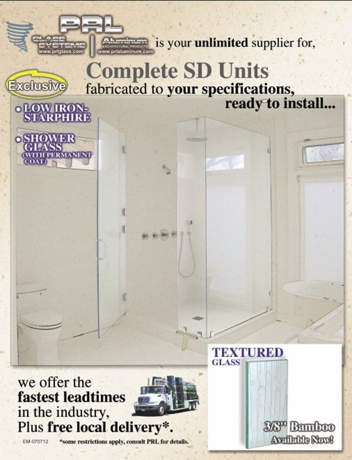 PRL's Complete Shower Systems