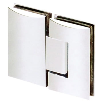 Contour 180° Glass-to-Glass Hinge Polished Chrome