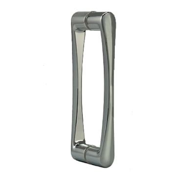 Contoured Pull Handle Brushed Nickel