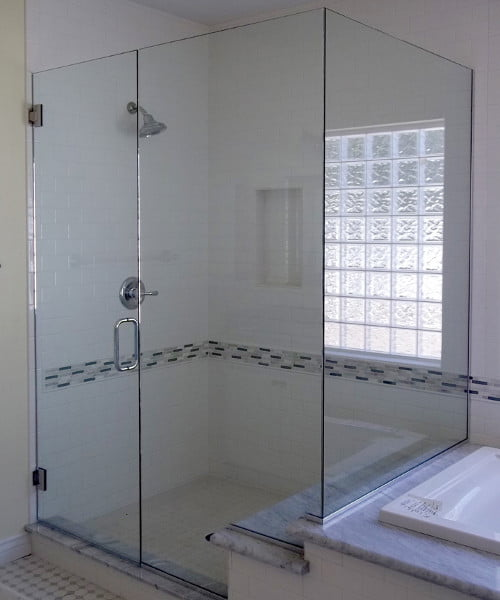 Custom Frameless Shower System