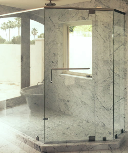 Frameless Swing Door Shower Systems