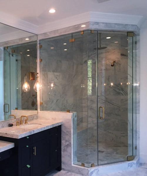 Frameless Shower System