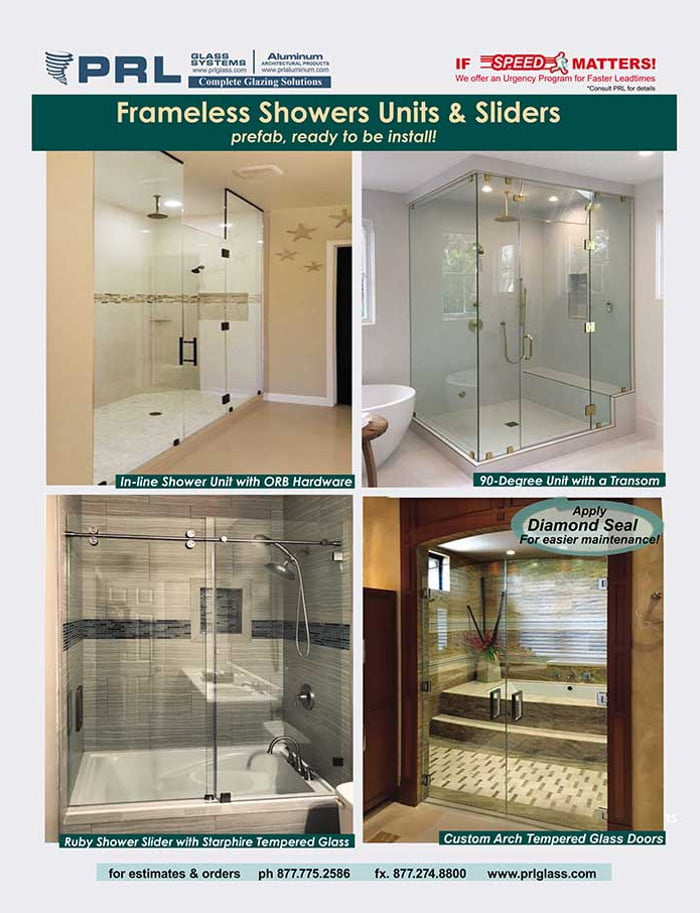 shower door units