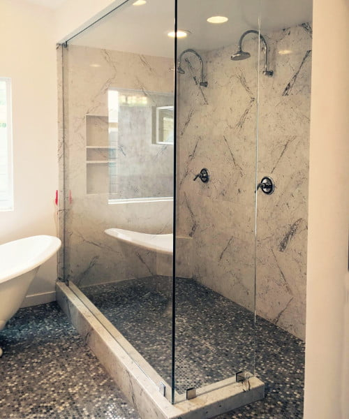 Frameless Splash Panel