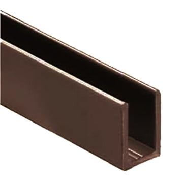 "1/2"" U-Channel Oil Rubbed Bronze"