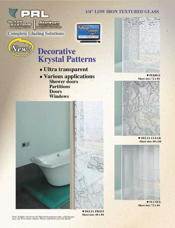 Krystal Klear Shower Glass