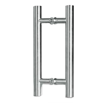 Mini Ladder H-Style Pull Handle Polished Chrome