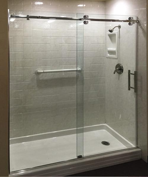 Ladder Pullhandle Shower Sliders