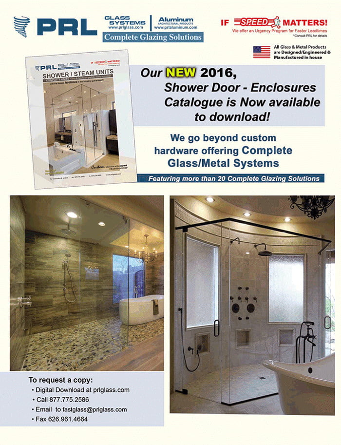 Don't Miss Shower Enclosure Catalog