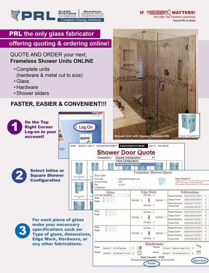Order Showers Online