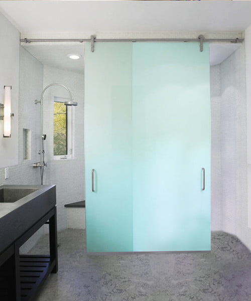 Ruby Frameless Shower Sliders