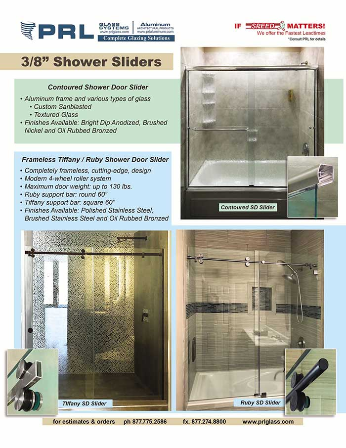 Shower Door Sliders