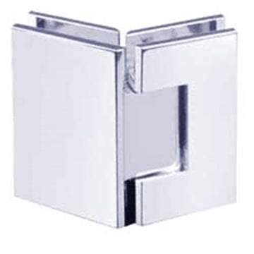 Sidney Heavy Duty Hinge Polished Chrome