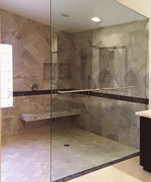 Towel Bars Shower Partition